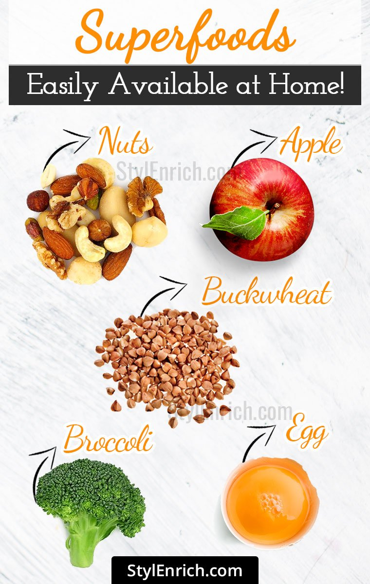 Superfoods List Easily Available At Home