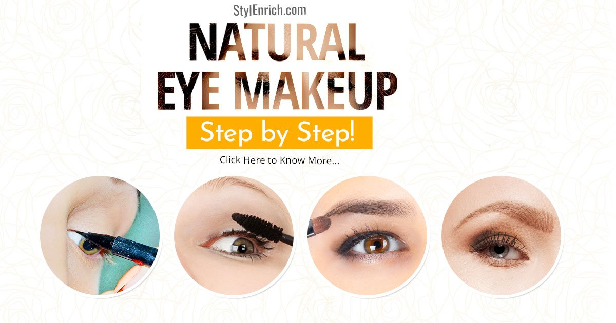 natural eye makeup tutorial step by step with pictures