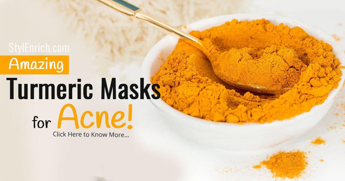 Turmeric Masks for Acne
