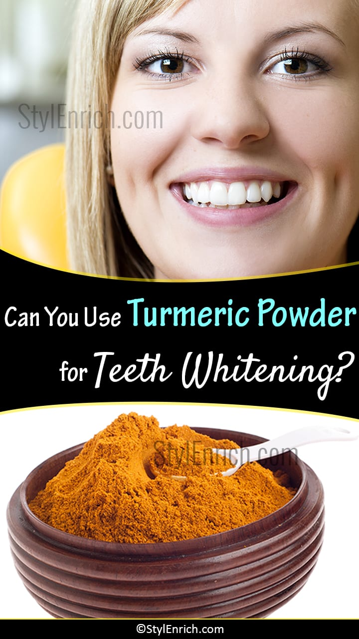 Turmeric Teeth Whitening