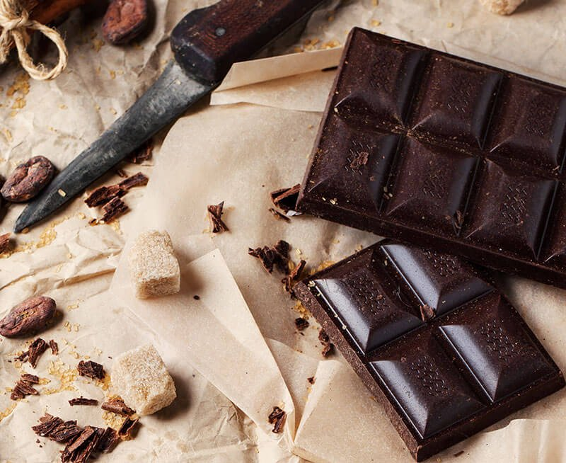 Dark Chocolate Pieces
