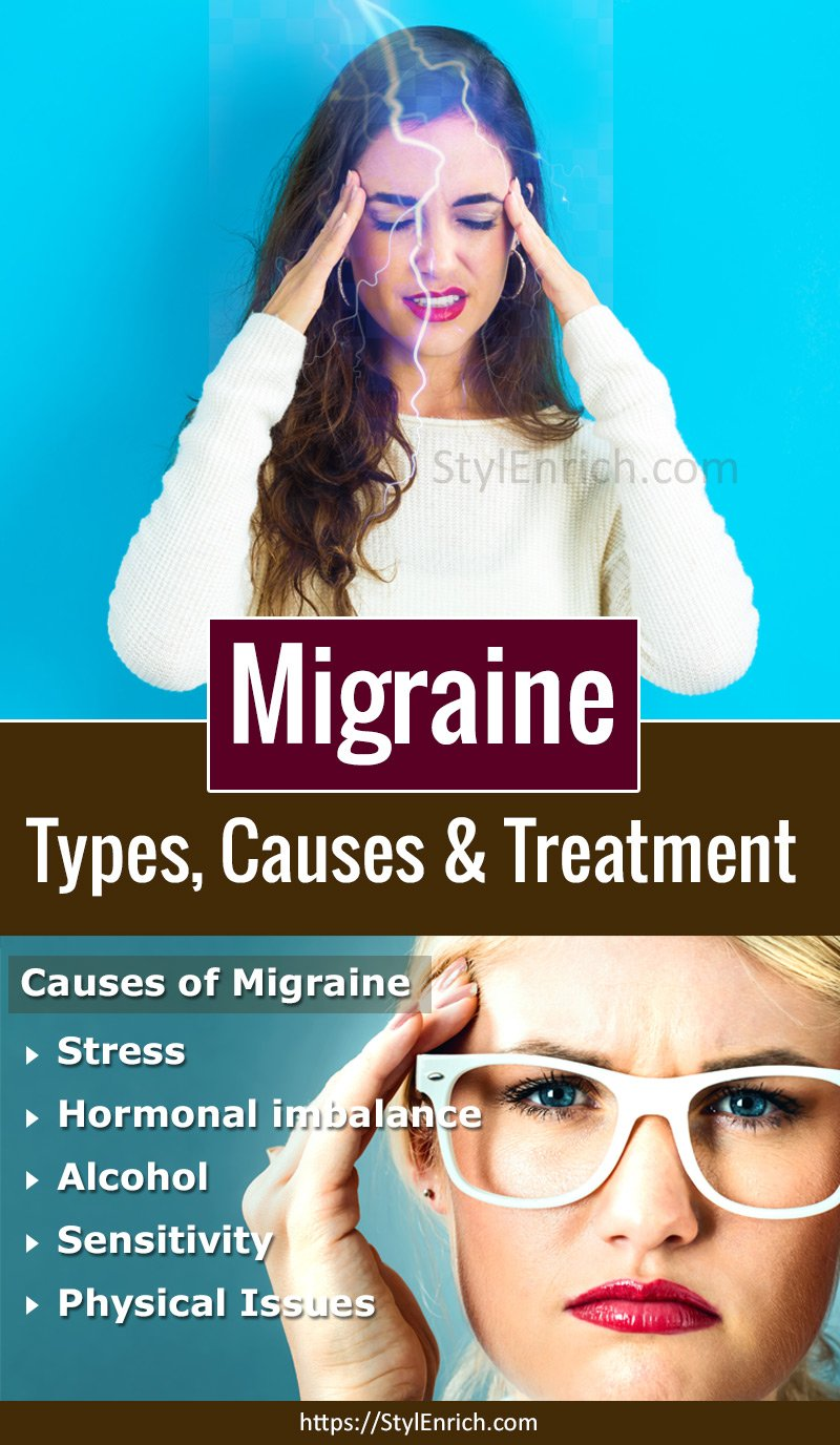 Migraine Types, Causes and Treatment at Home