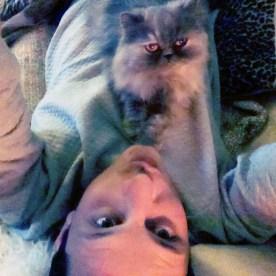 #catselfie