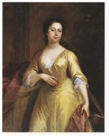 1740 John Smibert 1688-1751 Lady with Pearls Wisconson