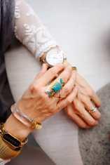 Wishing Well Intention Acacia Ring, cartier ballon bleu, alexis bittar lucite bracelet
