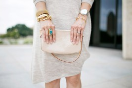 Wishing Well Intention Acacia Ring, louis vuitton nude vernis clutch, julie vos gigi bracelet