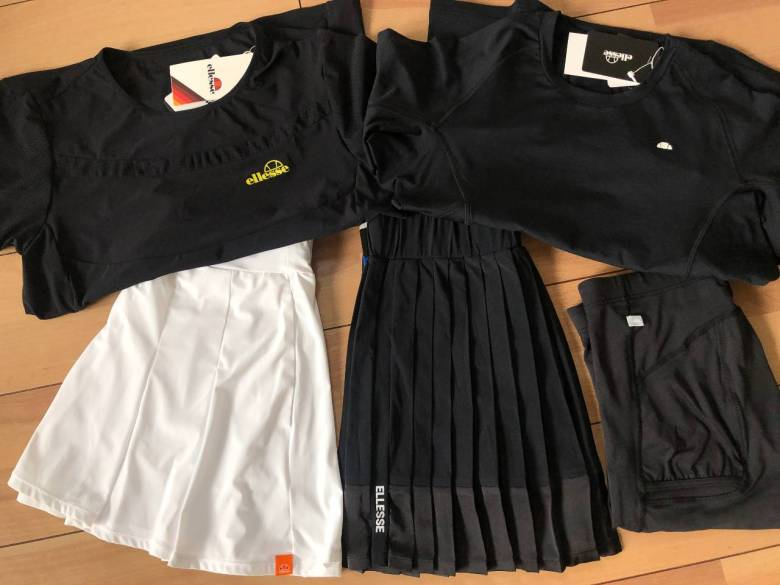 style of tennis ellesse outfit