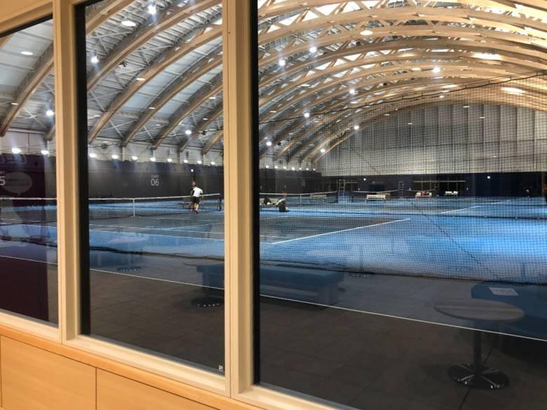 style of tennis ariake tennis park indoor