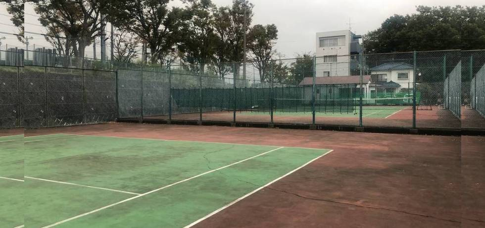 style of tennis hard court oyamada tennis garden 0