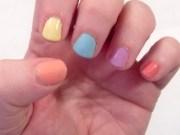 easy easter nail art spring