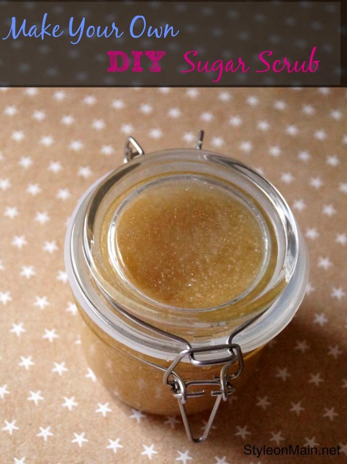 Make Your Own DIY Sugar Scrub Recipe