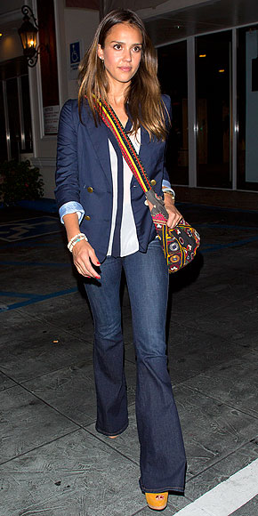 Fashion, Style, Celebrity Fashion, Denim Style, Denim fashion trends, Jessica Alba, Spring/Summer 2013 Trends, Street Style, Fashion Photography