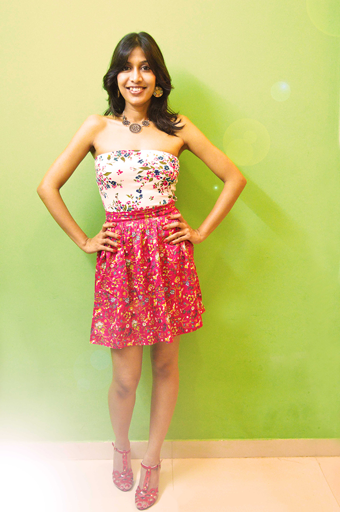 fashion, style, fashion blogger, beauty, photography, Indian blogger, Floral printed skirt, print mix- 2