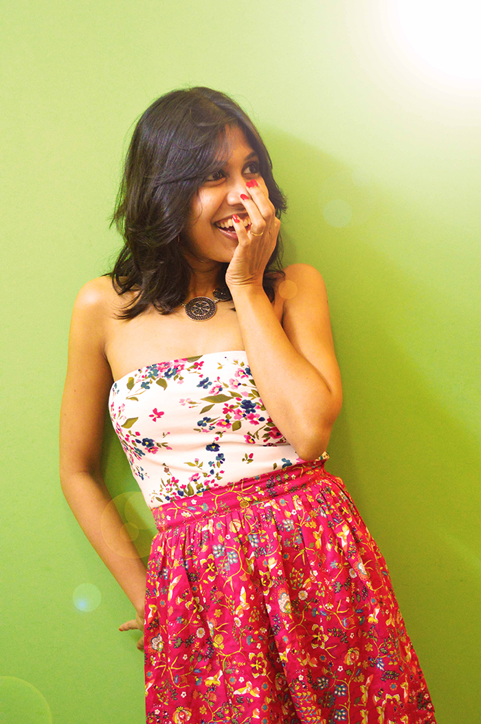 fashion, style, fashion blogger, beauty, photography, Indian blogger, Floral printed skirt, print mix-1