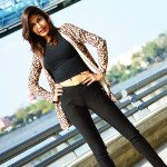 Fashion, Style, Fashion Photography, Street Fashion, Fashion Blogger, Casual wear, Leopard Print, Indian Fashion Blogger, Blck Crop Top, Carlton London Shoes,