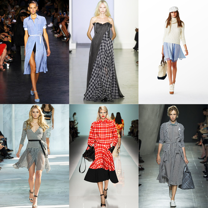 Fashion, Style, Fashion Magazine, Spring Summer 2015 Fashion Trends, Runway Fashion Trends, Spring/Summer 2015 Runway styles, Summer Fashion, Fashion Designers, Ready To Wear Runway Fashion, Gingham fashion