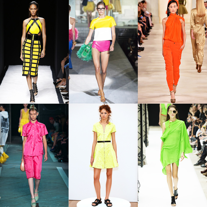 Fashion, Style, Fashion Magazine, Spring Summer 2015 Fashion Trends, Runway Fashion Trends, Spring/Summer 2015 Runway styles, Summer Fashion, Fashion Designers, Ready To Wear Runway Fashion, neon colours in fashion, Summer Fashion Trends