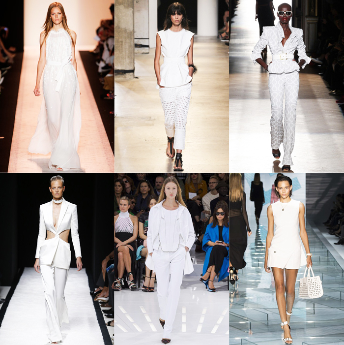 Fashion, Style, Fashion Magazine, Spring Summer 2015 Fashion Trends, Runway Fashion Trends, Spring/Summer 2015 Runway styles, Summer Fashion, Fashion Designers, Ready To Wear Runway Fashion, white colour in fashion, white, Summer Fashion Trends