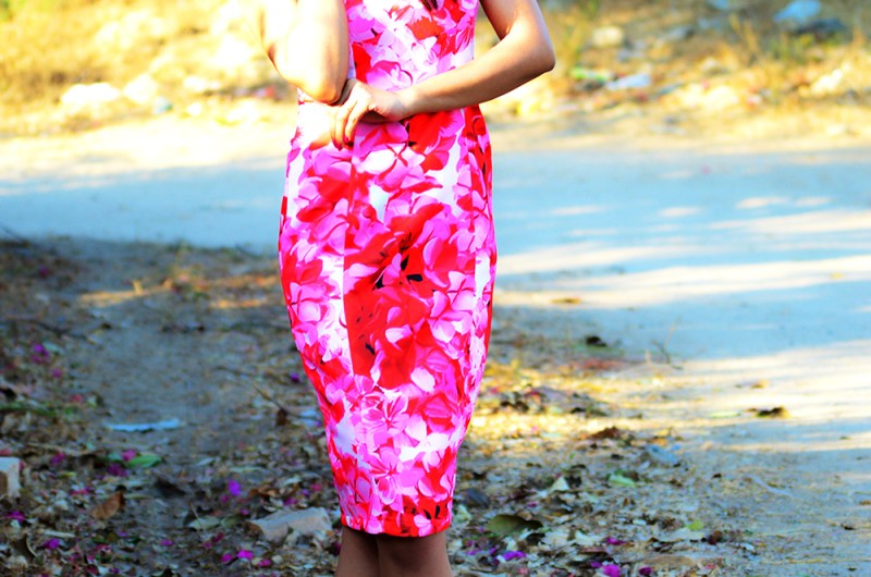 Fashion, Style, OOTD, Street Style, Valentine's Day Outfit, Pink Dress, Fashion Photography, Indian Fashion Blog