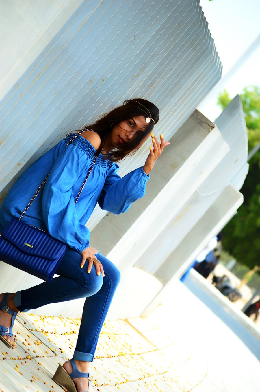 Fashion, Style, Fashion Photography, Indian Fashion Blogger, Street Style, Bardot Top, Casual Look, Fashion Blogger, Bohemian Outfit-7