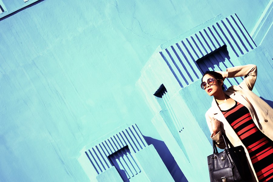 Fashion, Style, Indian Fashion color, Striped Dress, Color, Photography, Street Style, Winter Fashion, Beauty-4