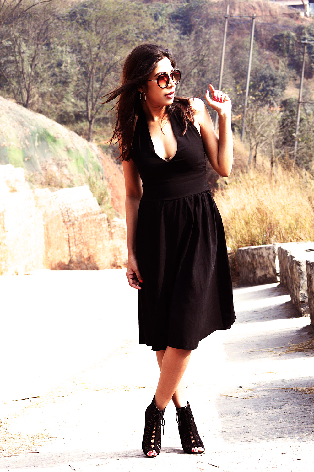 Fashion, Beauty, Lifestyle, Style, Photography, Little Black Dress, Street Style, LBD, Indian Fashion Blogger-3