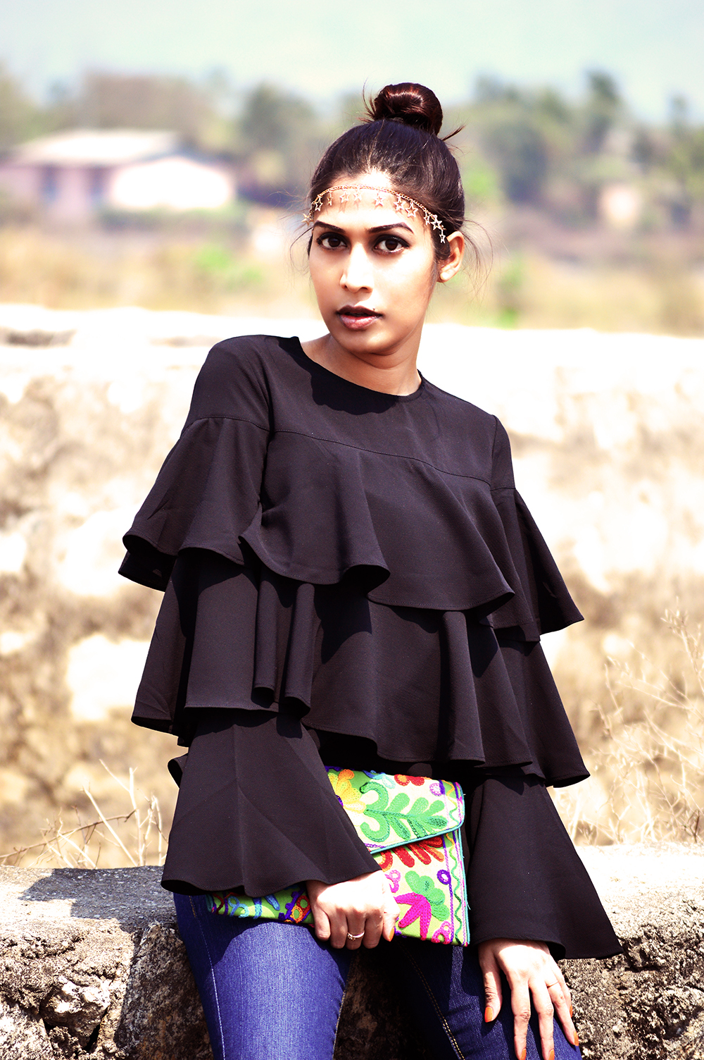 Fashion, Style, Ruffles, Beauty, Indian Fashion Blogger, Photography, Street Style, Lifestyle-3