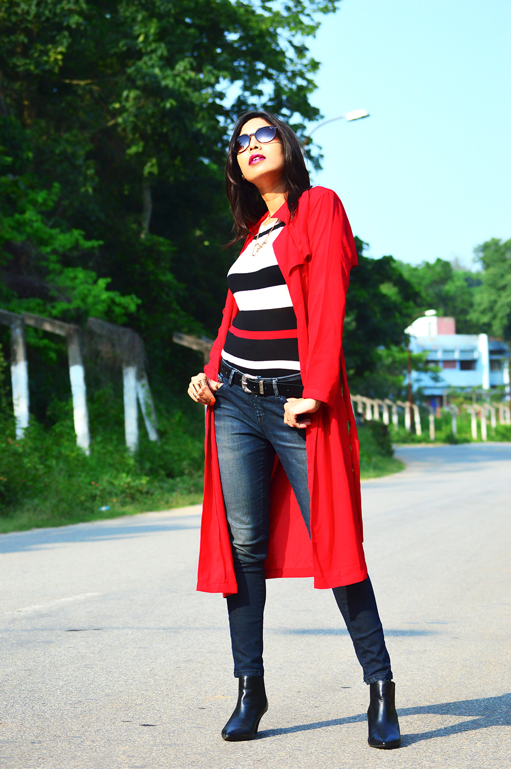 Fashion, Red Hot, Trench Coat, Style, Fashion Blogger, Photography, Street Style-1