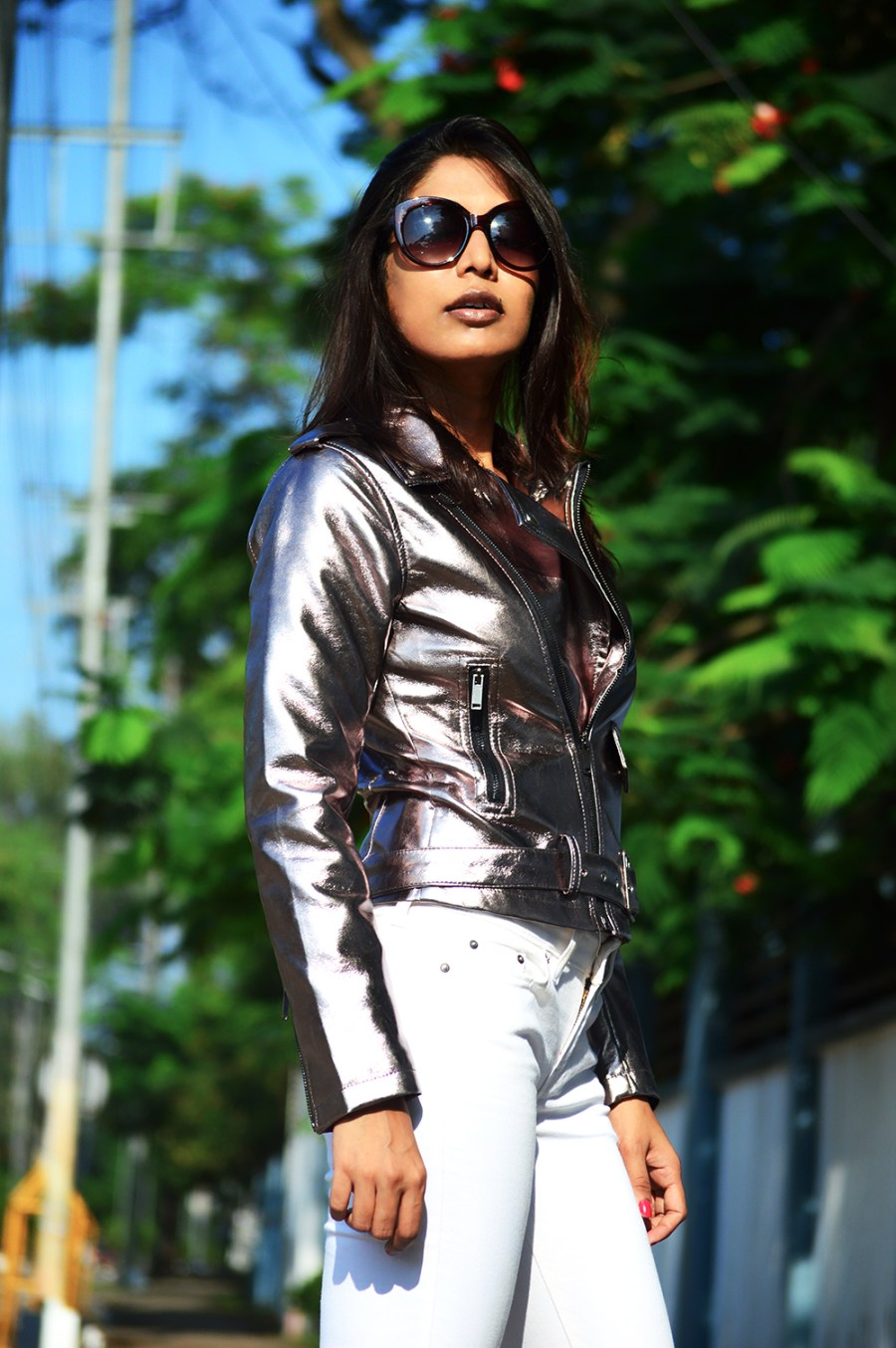 Fashion, Style, Silver Color, Indian Fashion Blogger, Beauty, Street Style, Photography-6