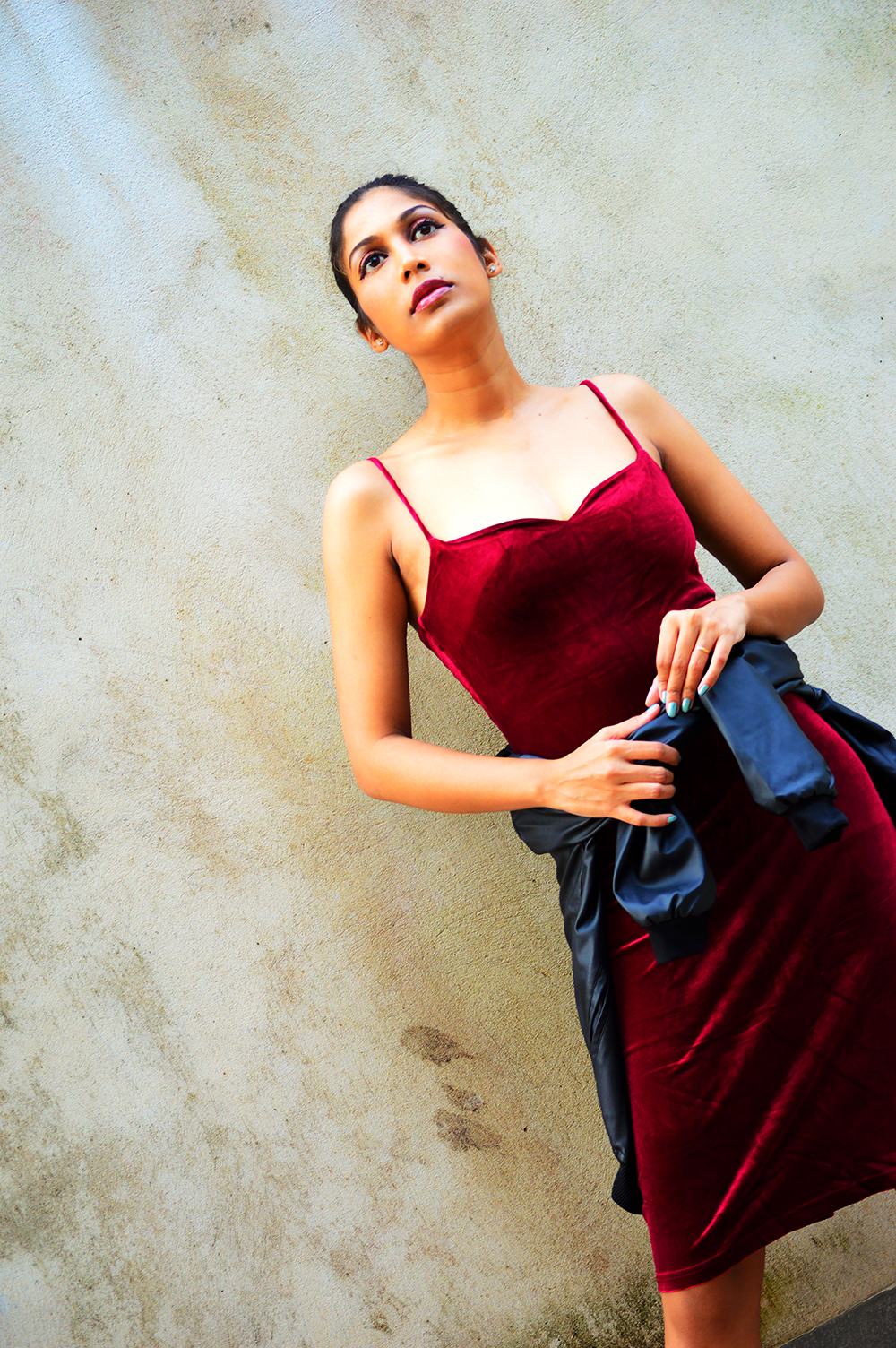 Street Style, Velvet Dress, Slip Dress, Fashion, Style, Indian Fashion Blogger, Indian Street Fashion, Photography-7