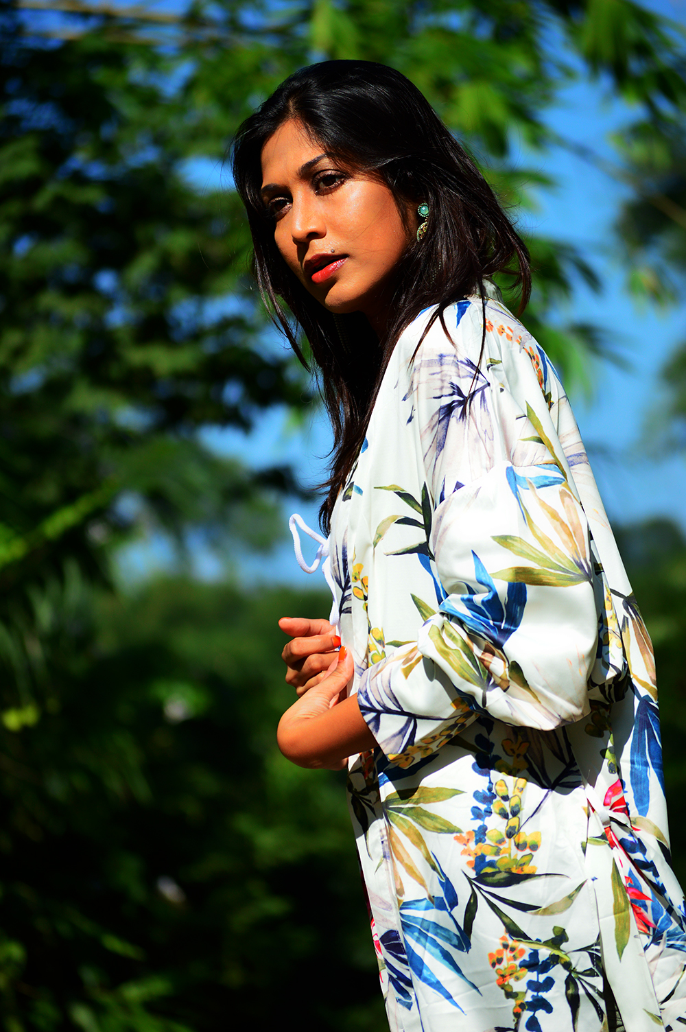 fashion, style, beauty, kimono, floral kimono, fashion blogger, street style, photography, Indian blogger-6