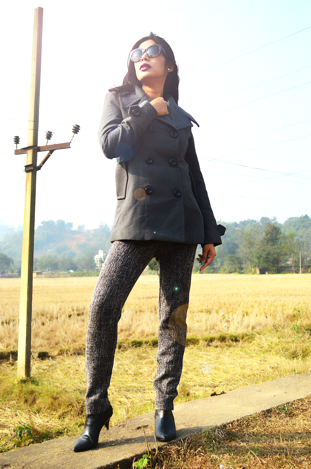 Grey Outfit, Fashion, Style, Indian Fashion Blogger, Street Style, Photography, OOTD, Beauty-6
