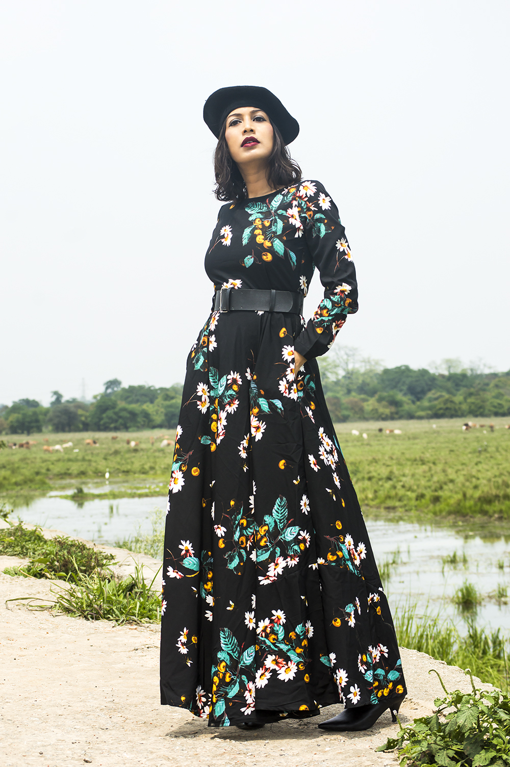 Floral Dresses, Fashion, Style, Fashion Blogger, Maxi Dress, Street Style-5