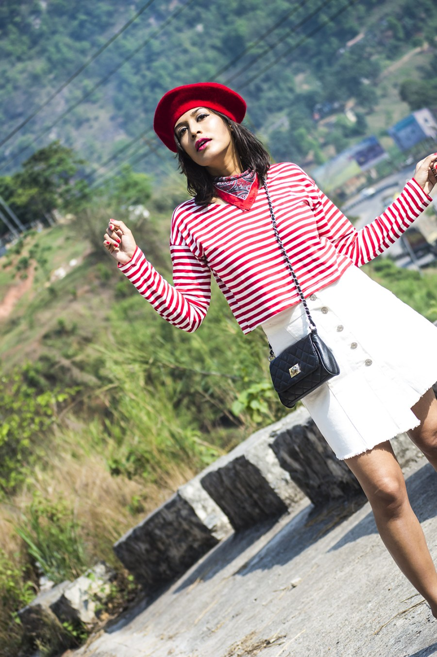 Fashion, Style, Indian Fashion Blogger, Beauty, Beret, French Style-3