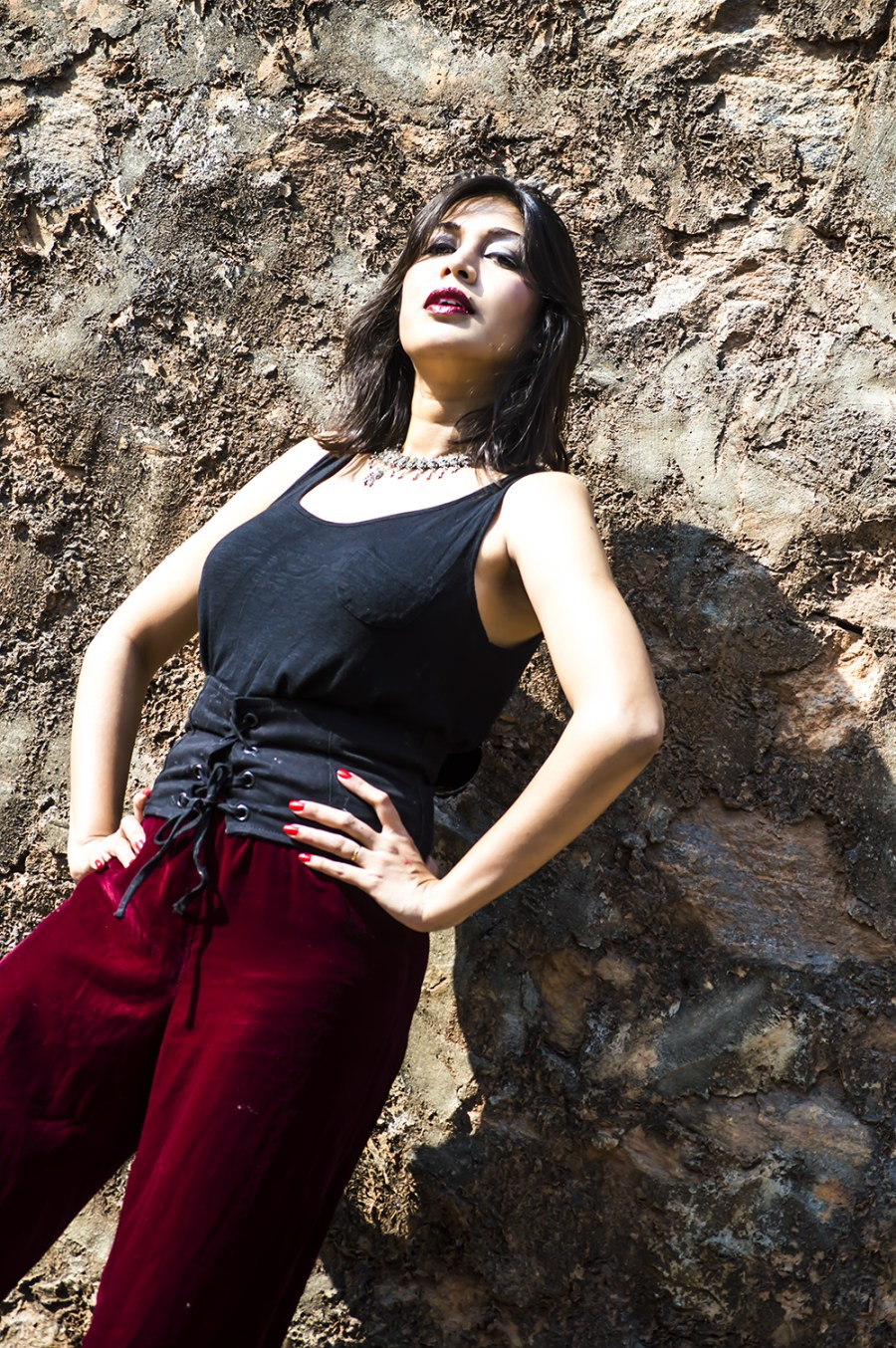 Velvet, Culottes, Fashion, Fashion Blogger, Street Style, Beauty, Indian Blogger, Maroon-5