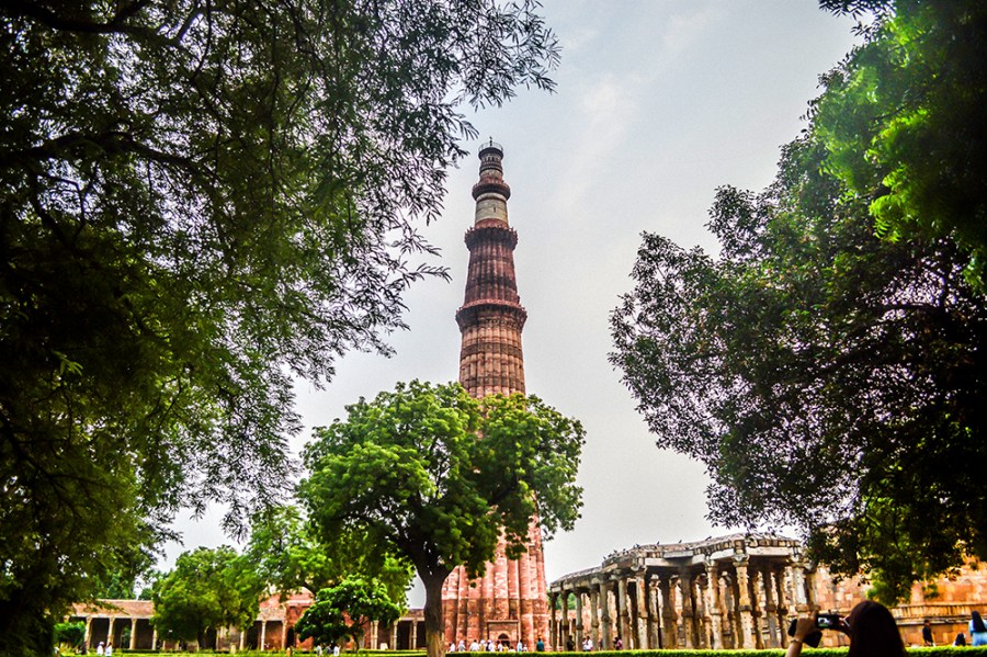 Qutub Minar, UNESCO World Heritage Site, Places to visit in Delhi, Indian Tourism, Travel, Travel Blogger, New Delhi, Delhi Travel