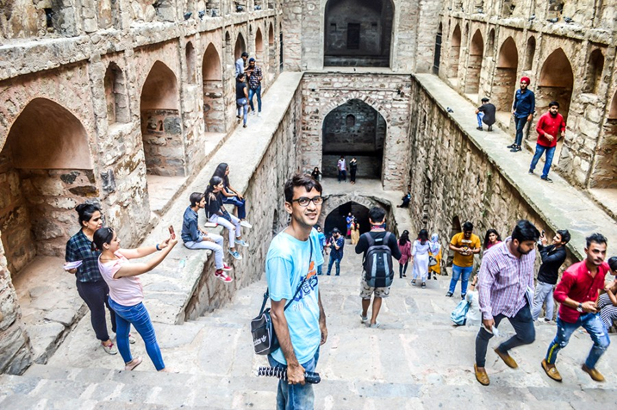 Delhi, Places to visit in Delhi, Things to do in Delhi, Travel, India Travel, Indian blogger, Style Over Coffee, Sarmistha Goswami, Agrasen ki Baoli, PK movie-8