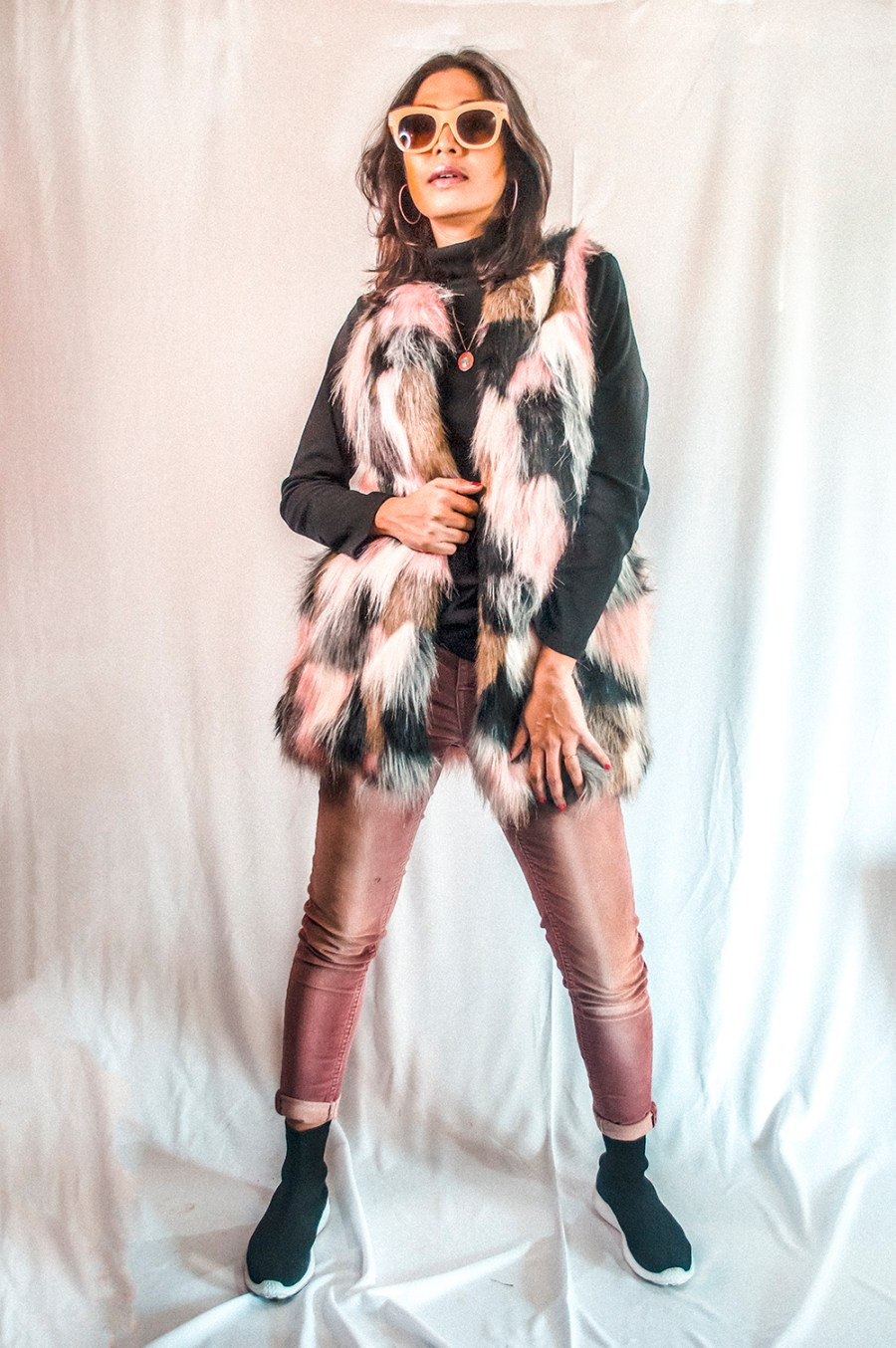 Faux Fur and Corduroy, Winter Style, Indian Fashion Influencer, Style Blogger, Fashion Blogger-1