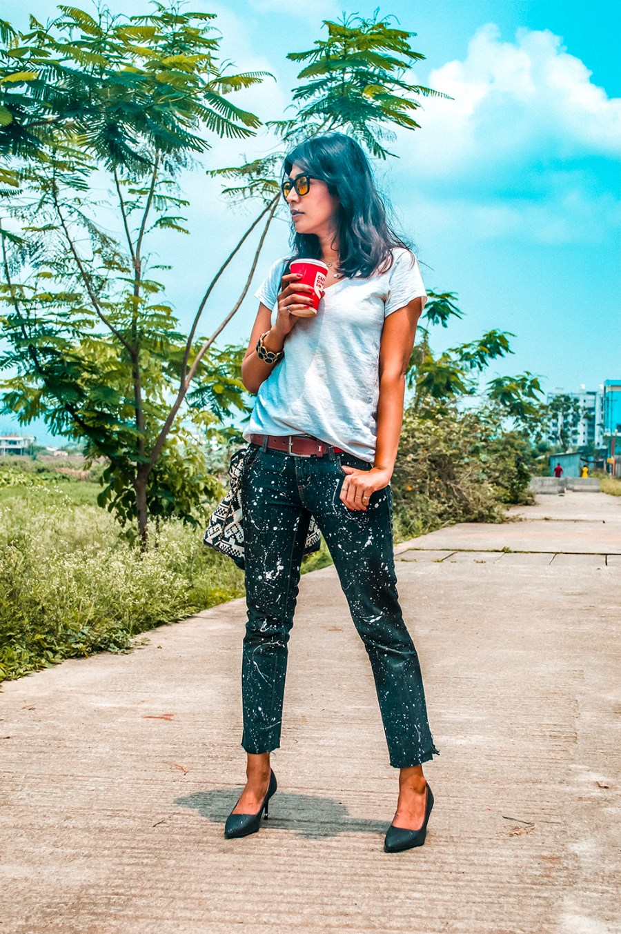 Slow Fashion, 12 years old jeans, Street Style, Fashion Blogger-1