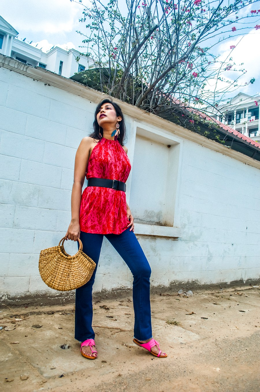 Bootcut Jeans, Fashion Blogger, Indian Influencer, Street Style, Summer Fashion-4
