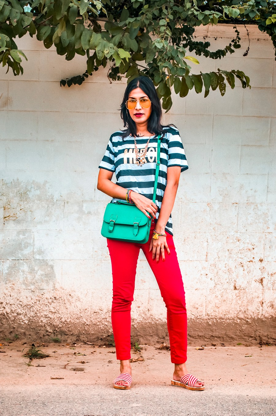 Everyday Look, Indian Fashion Influencer, Indian Blogger, fashion expert, red denim-1