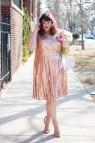 Plus Size Gold Sequin Dress