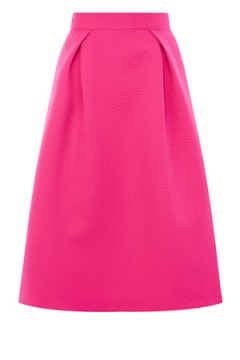 COAST TAY TEXTURED SKIRT bright pink