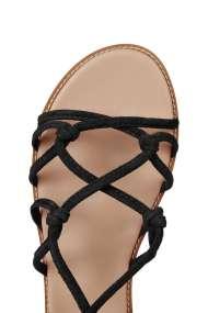 TOPSHOP FUNFAIR Knotted Sandals black (detail)