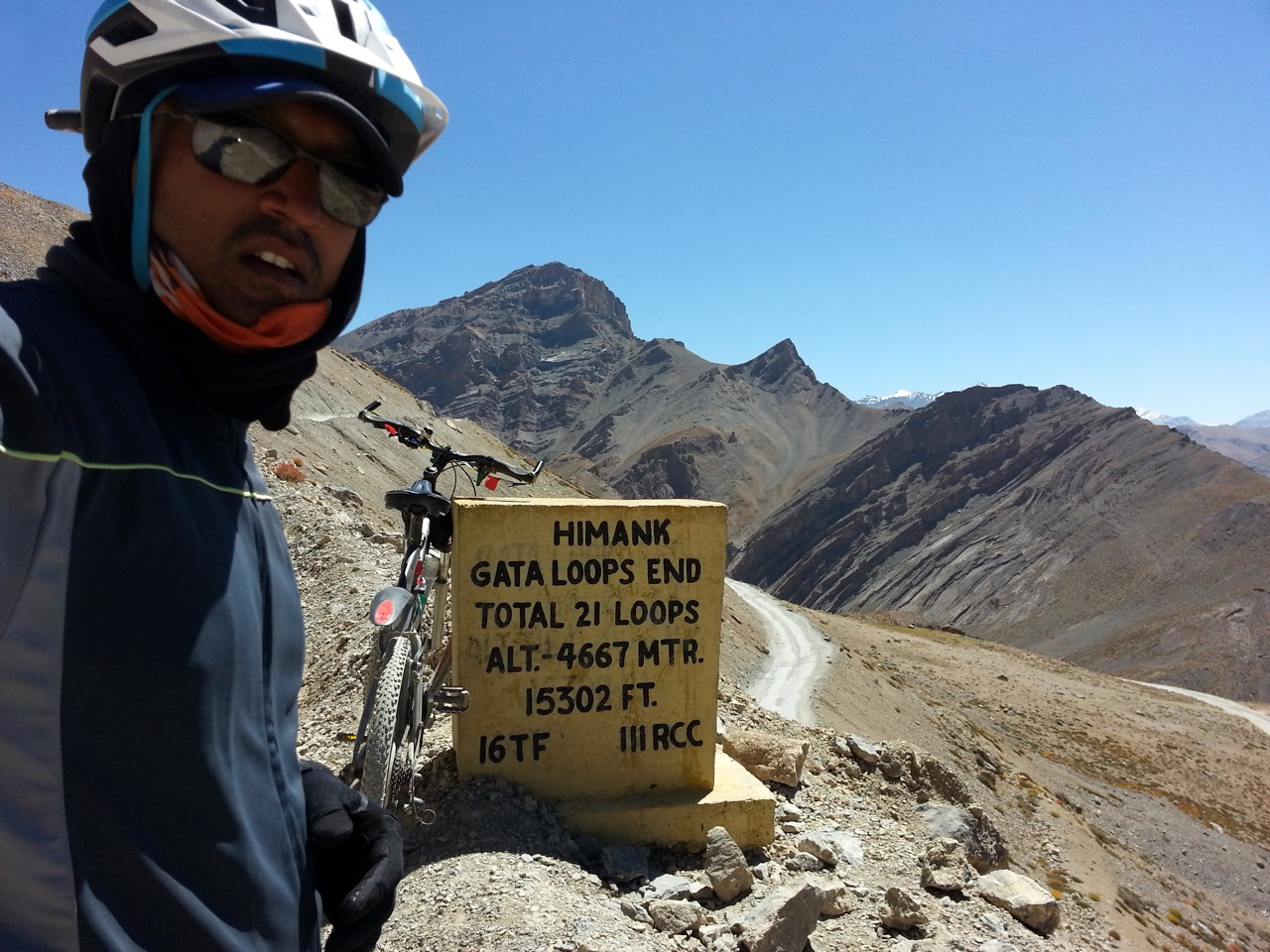 End of gata loops, 15302 ft