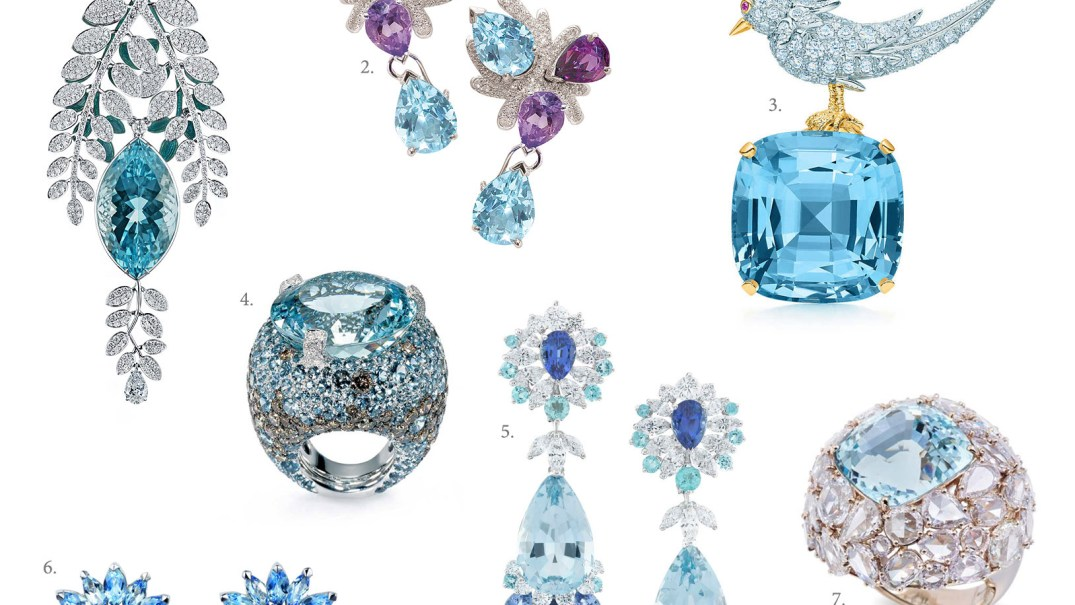 Aquamarine Jewellery. PC- katerinaperez.com
