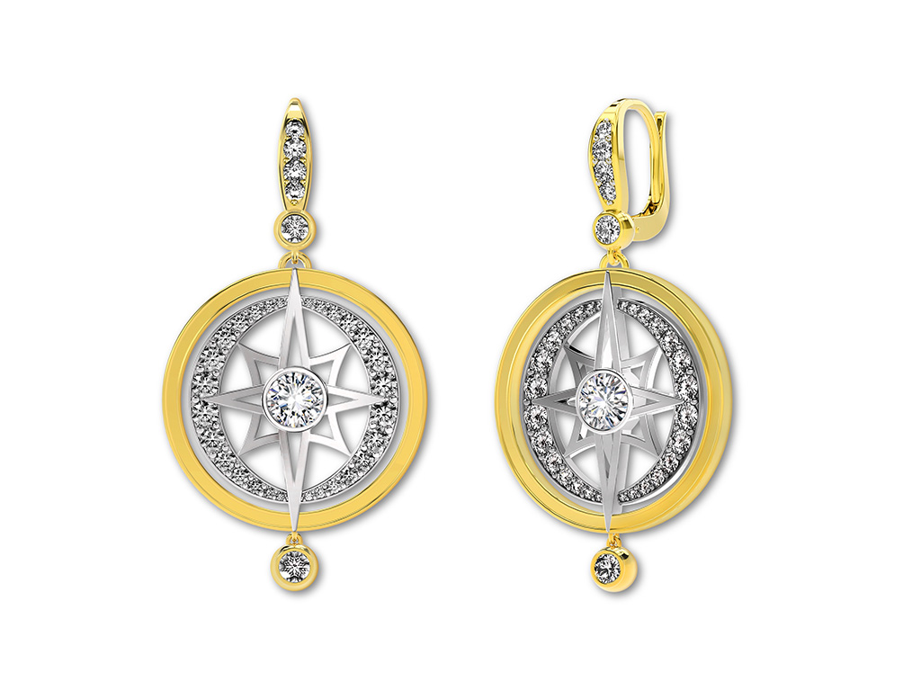 Diamond Dangler Earring From The Forevermark Artemis Collection