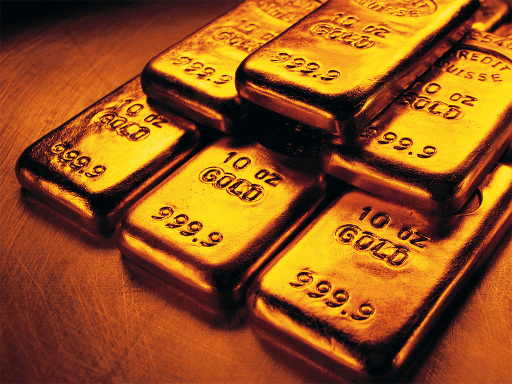 999.9 / 24 Kt Gold Bullion Bars. PC- Pinterest