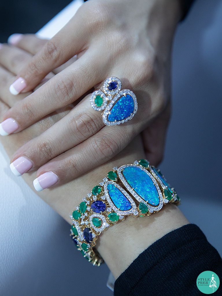 Beautiful Kyanite Opal Jewellery Collection from Exquisite Fine Jewellery at IIJS 2019