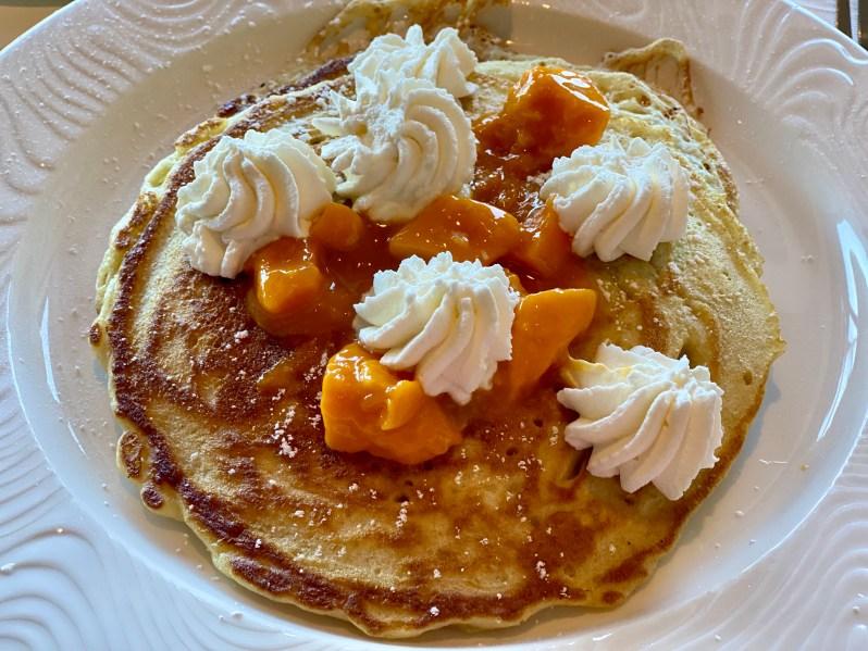 Mango Pancakes from Kapa Hale in Honolulu